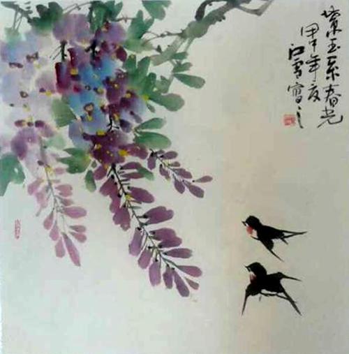 江雪书画作品欣赏
